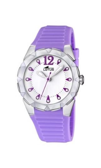 8059ef913a4e Lotus 15732 3 – Reloj analógico de cuarzo para mujer con correa de caucho