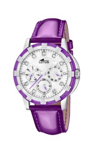95eda2fda493 Lotus 15746 6 – Reloj analógico de cuarzo para mujer con correa de piel