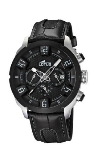a7c03118485d Lotus 15787 6 – Reloj analógico de cuarzo para hombre con correa de piel